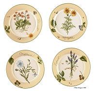Gardener's Journal Salad Plates
