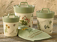 Gardener's Journal Cannister Set