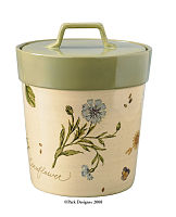 Gardener's Journal Cookie Jar