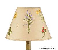 Gardener's Journal Lamp Shade