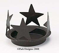 Black Star  Candle Pan 6 1/4""