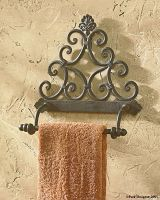 New Orleans Towel Holder