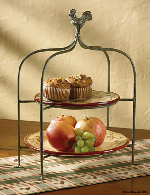 Early Riser Plate Stand
