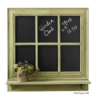 Gardener's Journal Chalkboard