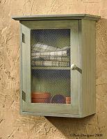 Gardener's Journal Cabinet