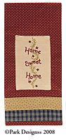 Home Sweet Home Decorative Dishtowel