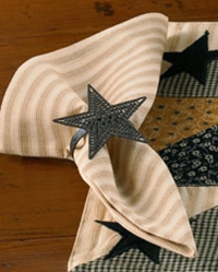 Black Star Napkin