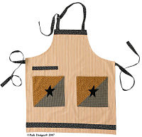 Black Star Apron