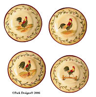 Early Riser mini Plates 5""