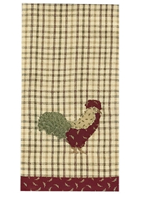 Early Riser Decorative Dishtowel