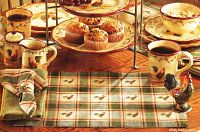 Early Riser Table Runner 54""