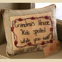 Grandma's House Pillow