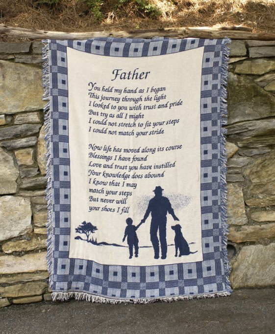 Father Throw Blanket