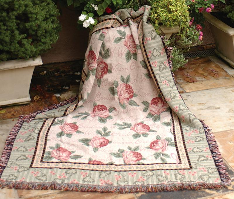 Warm Embrace Tapestry Throw