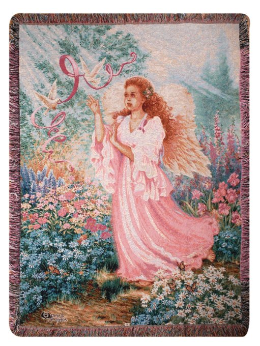Dawn of Hope Tapestry Throw