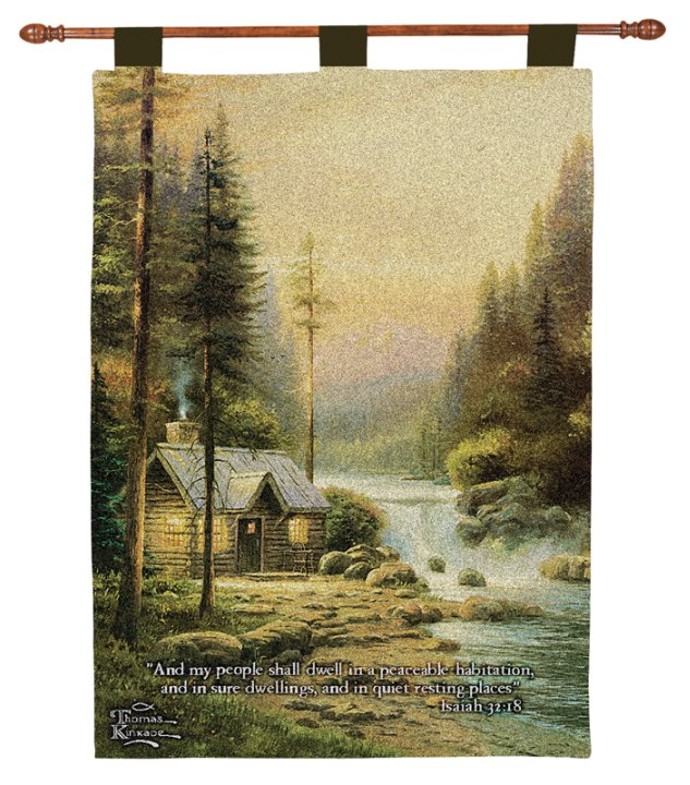 Evening in Forest Wallhanging