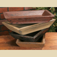 Wooden Tray - TAN
