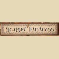 Sign  - SCATTER  KINDNESS