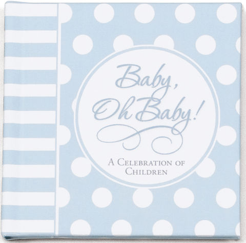 Baby Boy Mini Book