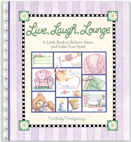 Live Laugh Lounge Gift Book