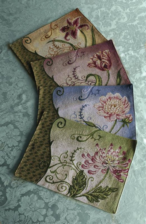 Stately Floral Placemats