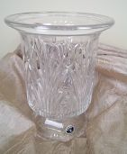 Glass Vase or Candle Holder