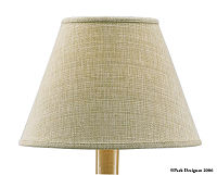 "Casual Classics Wheat 6"" Lampshade"