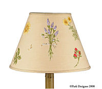 Gardener's Journal Lamp Shade