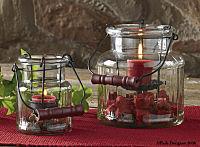 Jar Tea Light Holder 4 inch