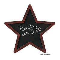 Black Star Chalkboard