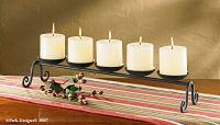 Centerpiece - 5 candle pillar