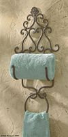 New Orleans Towel Holder w/ring