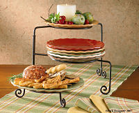 Expandable Plate Stand