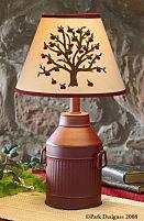 Antique Milk Can Lamp