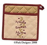 Home Sweet Home Potholder