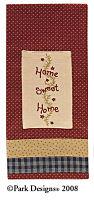 Home Sweet Home Decorative Dishtowel