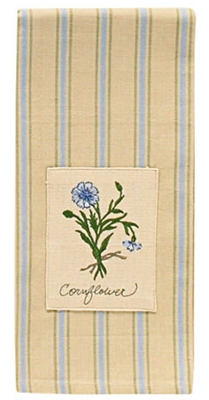 Cornflower Patch Dishtowel