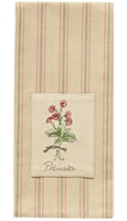 Primula Patch Dishtowel