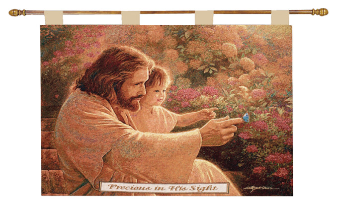 Precious In His Sight Wallhanging