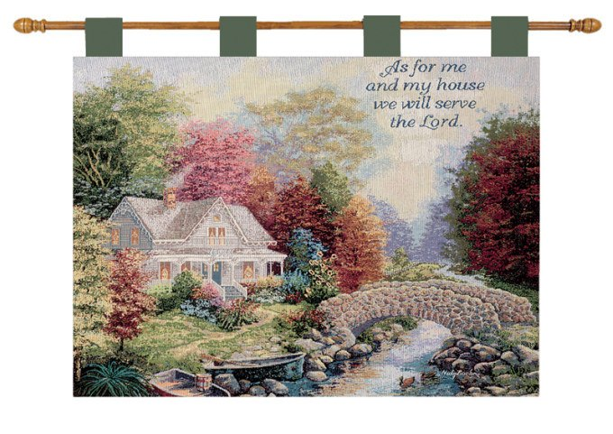 Autumn Tranquility Wall Hanging with verse