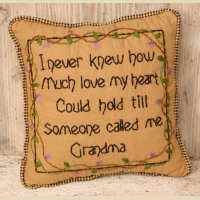 Family Collection Pillow - Grandma