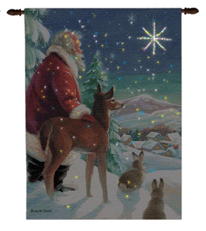 Santa Tapestry