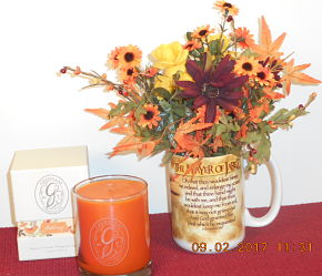 Fall Floral - Prayer of Jabez arrangement